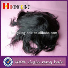 Indian Human Hair Invisible Super Thin Skin Injected Toupee