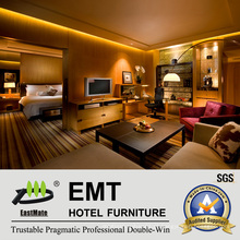 Modern Style Star Hotel Conjunto de móveis de sala presidencial (EMT-HTB05-3)