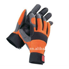 Silicone Coated Palm Shock-proof Mechanic Glove ZJB11