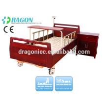 DW-BD188 elektrisch verstellbare Betten uk High-Density-Holz manuelle Pflegebett mit zwei Funktionen für medizinische Geräte