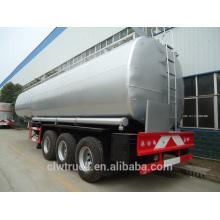 Venta caliente 30-50m3 remolque cisterna de combustible, 3 ejes nuevo semirremolque precio