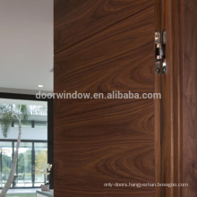 Apartment brown canadian oak wood color antique invisible doors hides door with hinge hardware
