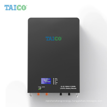 Lifepo4 Lithium Ion Battery Pack Generators Similar to Powerwall Solar Energy Storage Home Patented Design 5kwh 48V 100ah