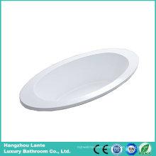 Cheap Ellipse Acrylic Built-in Bathtub (LT-6P)