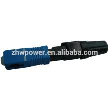 Sc conector rápido upc, conector rápido elétrico, conector de fibra ótica sc upc