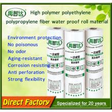 Weight 300-500g/Square Meter Popular Sale High Polymer Polyethylene Waterproofing Membrane
