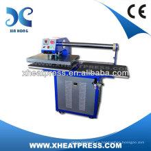 Máquina de impresión manual neumática totalmente automática de la camiseta del formato grande