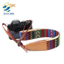 Courroie faite sur commande colorée d'appareil photo de bride de long pour des personnes
