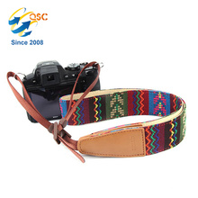Custom Colourful Long Sling Camera Strap For People