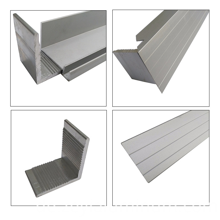 Aluminum Profile Of Sand Blasting Solar Panel Frame