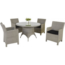 Rotin Meuble jardin Wicker Patio dinant l'ensemble