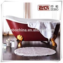 2014 neueste Entwurf 16s Baumwollfußmatte für Hotel-Bad