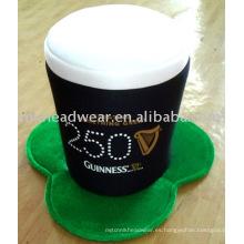 Sombrero de la cerveza del carnaval Día de San Patricio
