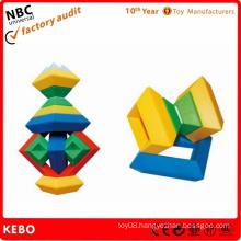 Plastic Intelligent Construction Toys