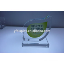Transparent Acrylic Trophy Display
