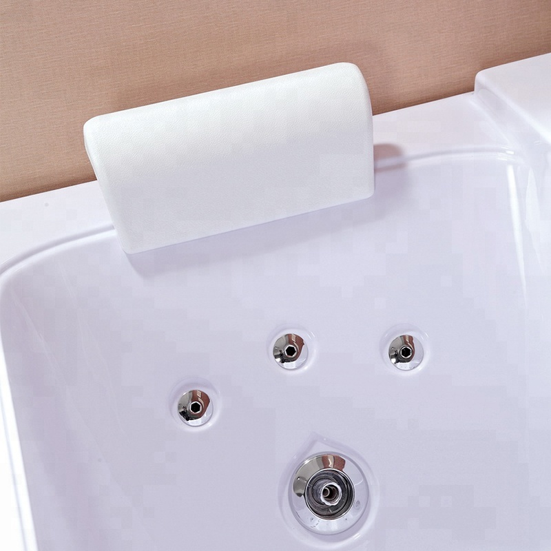 Single Person Small Jetted Whirlpool Hydromassage Bathtub