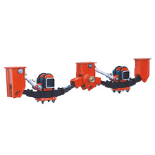 Semi-Trailer Machinery Suspension with 3 Germany Type Axles