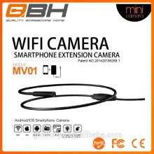 wifi extension smartphone mini-trou d'épingle usb caméra d'inspection