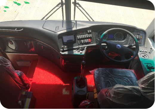 Bus driver seat