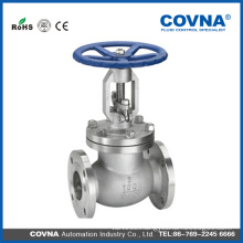ANSI steam CF8 steel flange globe valve with cheaper price