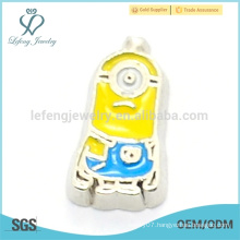 Wholesale crazy loom minion charm jewelry