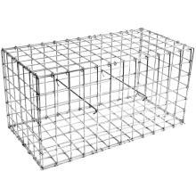 Boîte simple de gabion de fil