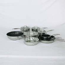 Venda quente barata de utensílios domésticos de cozinha de aço inoxidável