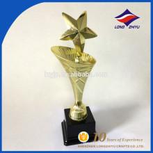 Оптовая продажа фабрики специальная конструкция металла трофей с пользовательской пластиковой основе