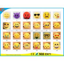 Hot Selling Alta Calidad Novedad Diseño Emoji Expresión Facial Plush Pillow