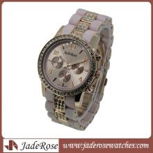 Fashion Multi Color Strap Quartz Damen Silikon Genf Uhr
