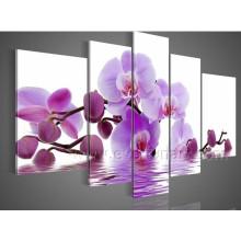 Decoración casera moderna Pintura hermosa de la flor (FL5-045)