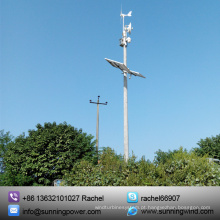 Turbinas de vento 300W, sistema de monitoramento