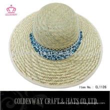 Mais novo chapéu de palha de verão projetado para mulheres