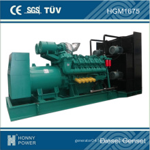 USA Technology Googol V16 Engine Silent 1500kVA 1200kw Diesel Genset