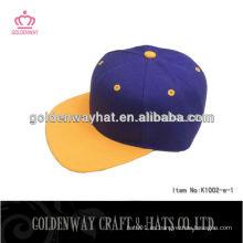 Cheap plain snapback Cap para la venta