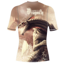 Shocking Full Sublimated Shirt Rash Guard