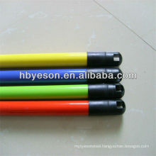 pvc coated wood broom handle,wooden broomstick with ISO