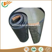 Courroie de convoyeur en maille en fibre de verre revêtue de téflon pour courroies pour sécheuses alimentaires