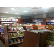 Supermarket Wooden Display Rack