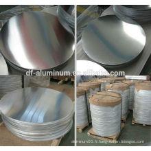 1050/1060/1100/3003 cercle en aluminium de haute qualité