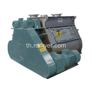 2m3 Twin Shaft Paddle Mixer สำหรับปูนแห้ง