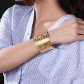 Womens Rose Gold Schmuck Big Cuff Bangle Armbänder