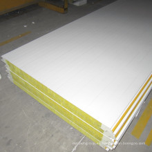 China Panel de sándwich incombustible de lana de roca de alta calidad