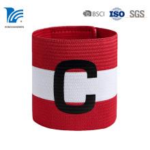 Braçadeira esportiva de tecido impresso com logotipo de alta qualidade por atacado