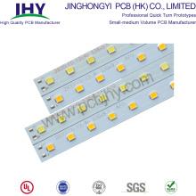 Placa de alumínio PCB para tubo de luz LED