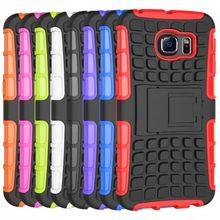 Silicone Combo Case for Samsung Galaxy S6 Mobile Phone Case
