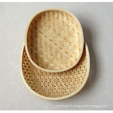 High Quality Handmade Natural Bamboo Basket (BC-NB1020)