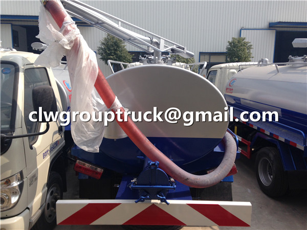 Waste Water Suction Truck