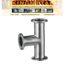 Ss304/316 Stainless Steel Sanitary Clamp Tee 90 Degree 3A Tee.