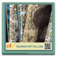 100 % Polyester Sofa Chenille Stoff Dubai Sofa Stoff chenille